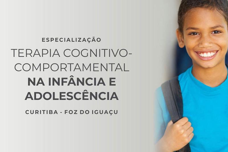 Especialização Terapia Cognitivo-Comportamental na Infância e Adolescência - IPTC